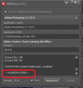 Hoàn thành xong cài đặt phần mềm
