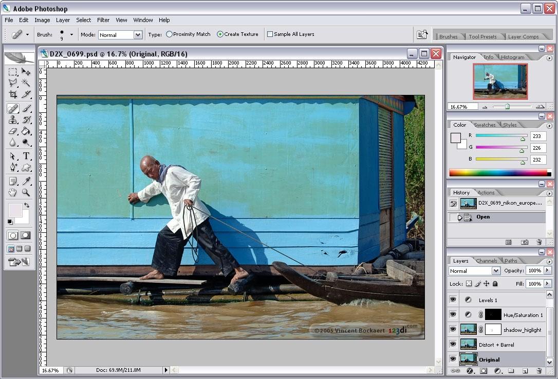 Các tính năng của Photoshop CS2 giúp tạo ra chất lượng hình ảnh tốt nhất