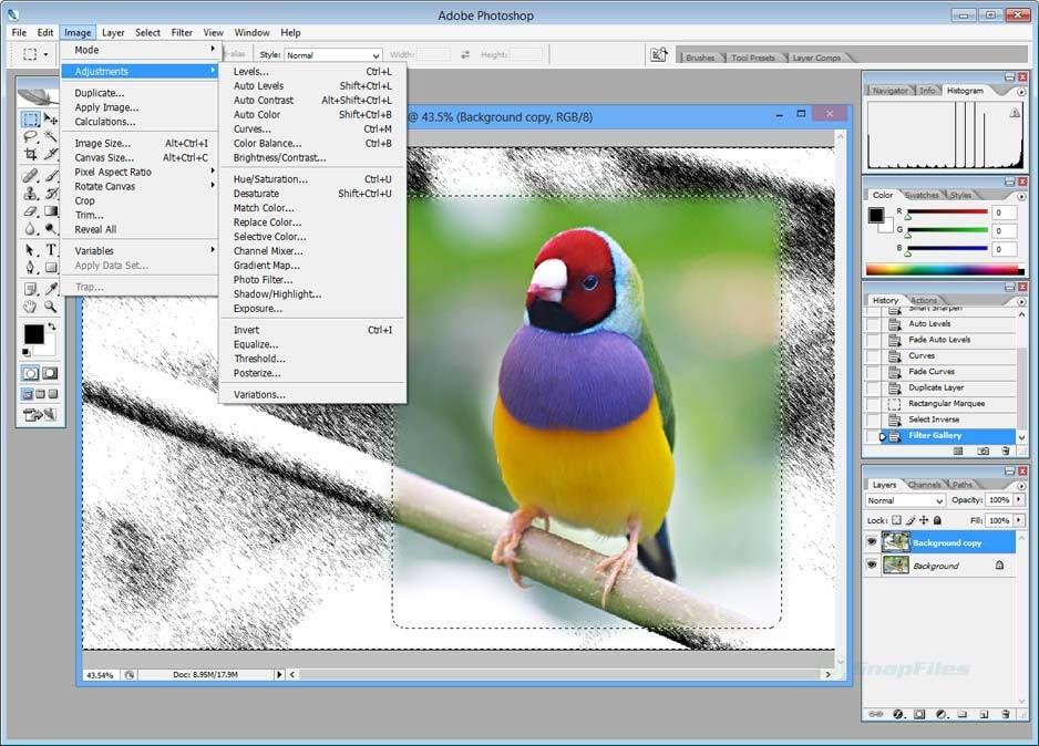 Các tính năng chỉnh sửa ảnh chuyên nghiệp trên phần mềm