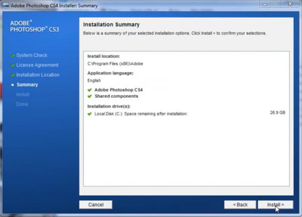 Nhấn chọn Install để tiến hành quy trình cài đặt