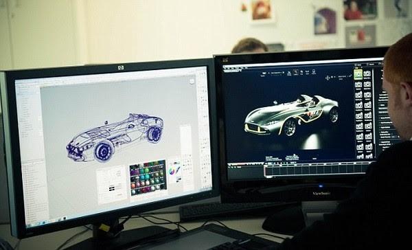 Bản vẽ chi tiết ô tô được hoàn thành trong Autocad 2010
