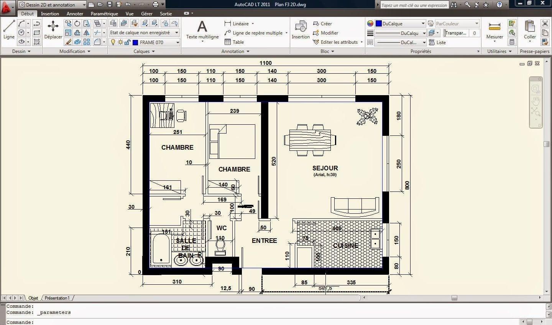 Phần mềm Autocad 2010 cho phép người dùng thiết kế, sáng tạo bản vẽ trong nhiều lĩnh vực